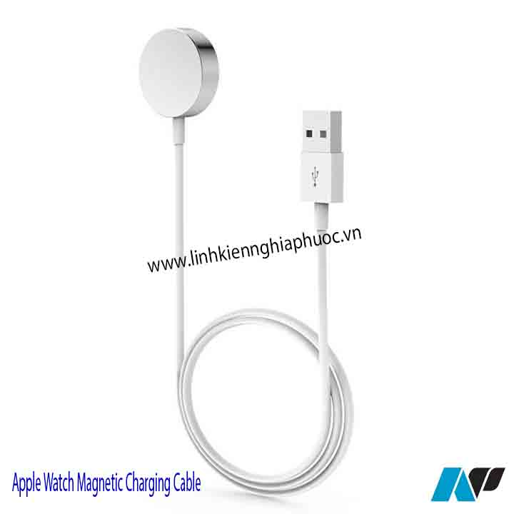 Cáp sạc Apple Watch Magnetic Charging Cable 1m (series 1/2/3)