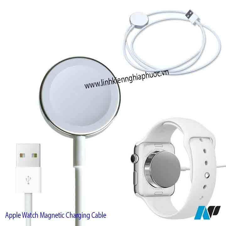 Cáp sạc Apple Watch Magnetic Charging Cable 2m (series 1/2/3/4)
