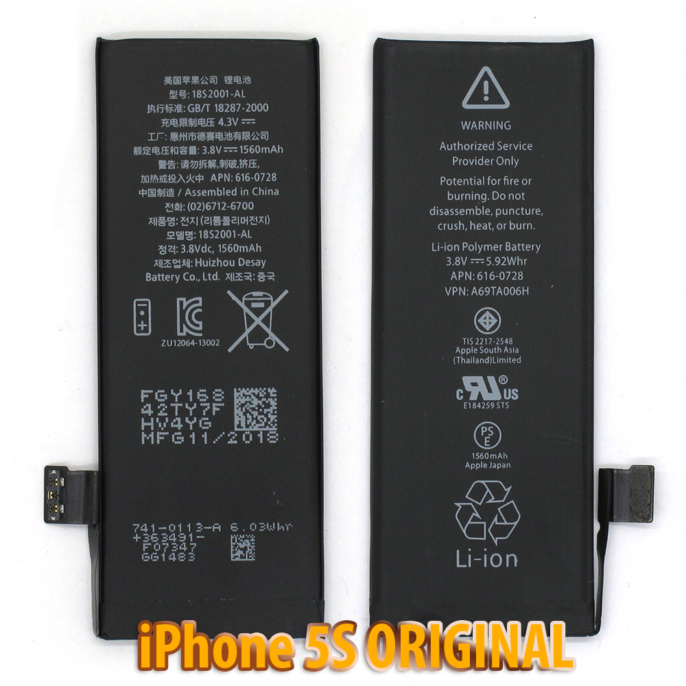 Pin iPhone 5S ZIN - MMC ORIGINAL