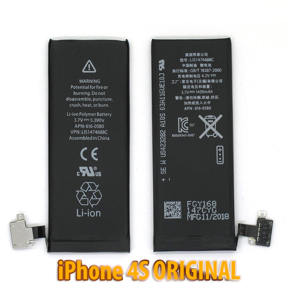Pin iPhone 4S ZIN - MMC ORIGINAL