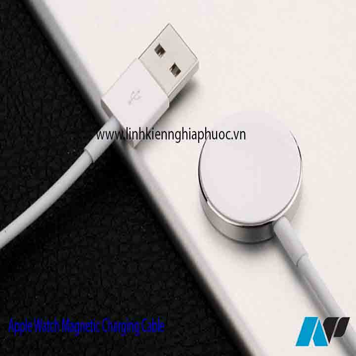Cáp sạc Apple Watch Magnetic Charging Cable 2m (series 1/2/3)