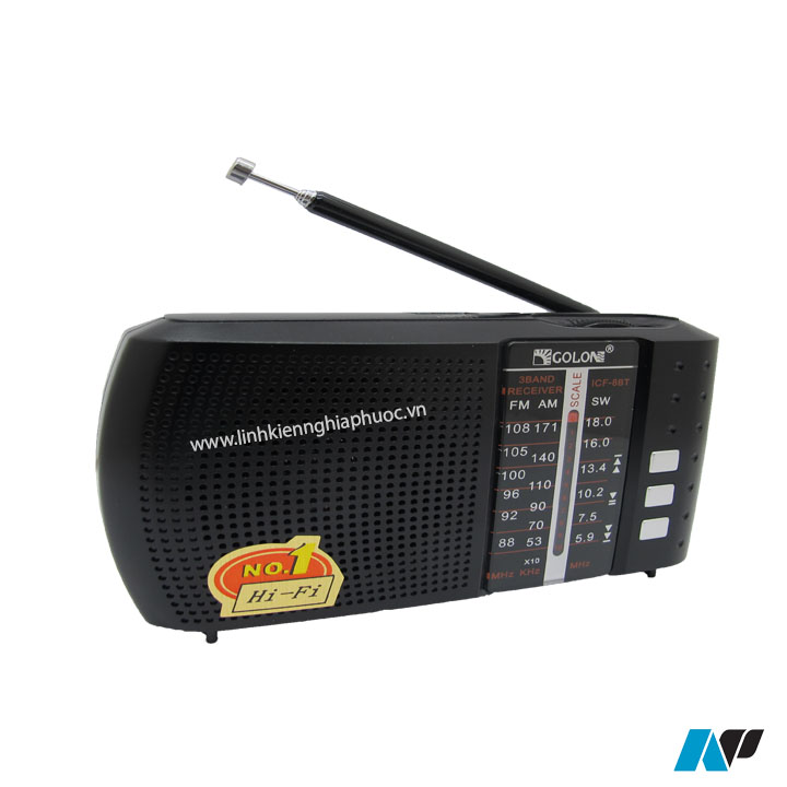 Radio Golon FM  ICF - 8BT (FM/AM) + Bluetooth